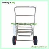 多機能のトロリー角度の椅子のカートを採取するステンレス鋼