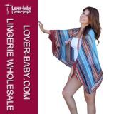 Printed Woman Beach Caftan Shawl (L38348)