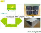 Caixa de exibição de papelão PDQ ecologicamente correta com ganchos plásticos (B & C-D056)