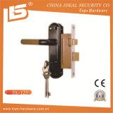 アルミニウムハンドルの鉄の版のほぞ穴Lockset (PA-121)