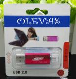 USB Pen Drive del USB Disk del USB reale Flash Drive Pen Driver 4GB 8GB 16GB 32GB 64GB 128 di Fully OTG