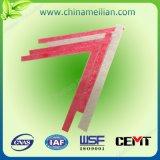 Feuille de matériau de fibre de verre d'isolation thermique