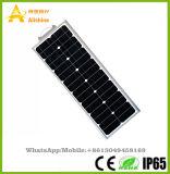 Lumière extérieure des produits DEL de jardin de rue solaire Integrated solaire de l'éclairage 60W 5 ans de garantie