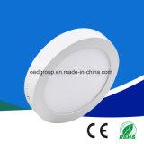 세륨 RoHS 승인을%s 가진 최신 판매 6W/12W/18W/25W SMD2835 알루미늄 둥근 사각 LED 위원회 빛 LED Downlight
