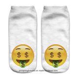 Digital-Druck Emoji Zoll-Socken