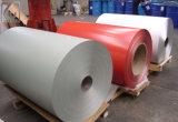 Cc/cc de la bobina de aluminio con recubrimiento de color rojo de 3125 para la decoración