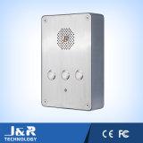 Telefono Emergency di SIP del telefono del citofono del telefono dell'elevatore del telefono Jr301-Sc-Ow