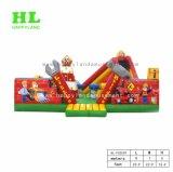 Kundenspezifisches hochwertiges magisches Lampen-Thema aufblasbares Funcity für die Kinder, die Sport-Spiel unterhalten