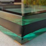 5mm+9A+5mmの平らで明確で低いE強くされた絶縁されたガラス