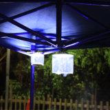 熱い販売屋外のキャンプのための携帯用再充電可能なFoldable太陽ライトLED膨脹可能な太陽ランタン