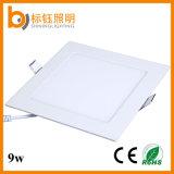 Der China-Großhandels50-60hz quadratische LED Decken-unten Lampen Leuchte-9W AC85-265V