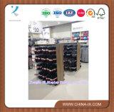 Supermercados Mostrar Rack con madera y metal
