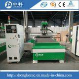 Woodworking do CNC de Jinan Zhongke que cinzela a máquina/router pneumático do CNC de 4 cabeças
