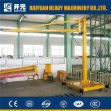 0,5 tonne Portail Jib grue fixe avec palan électrique