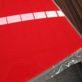 أحمر 135 أكريليكيّ مساء بلاستيك صفح