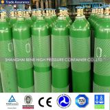 cilindro de acero del argón del nitrógeno del CO2 del oxígeno de 10L 40L con el estándar ISO9809-3