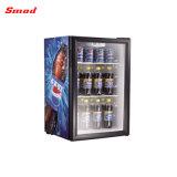Ce/ETL/RoHS стеклянные двери холодный напиток мини холодильник дисплея