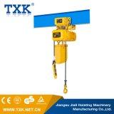 Model neuf d'offre de Txk élévateur à chaînes électrique de 2 tonnes avec le chariot