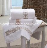 Tovaglioli stabiliti dell'Egiziano 100 del bagno di lusso del cotone, tovaglioli di tintura reattivi su ordinazione all'ingrosso