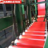 PPGI Prepainted bobinas de acero galvanizado para la casa de techos de metal