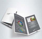 5 дюйма видео брошюра по маркетингу реклама