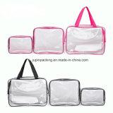 Мода прозрачный водонепроницаемый Toiletrybag промойте хранения расходных материалов для купания женщин косметический мешок (jp-bag 001)