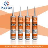 高性能のAcetoxyのシリコーンの密封剤(Kastar731)