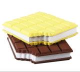 新型の文房具のための柔らかいシリコーンチョコレートメモパッド