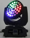 Cabeça movente do diodo emissor de luz do zoom muito barato do brilho 6in1 de 36PCS 15W (YS-205)