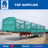 Het Voertuig van de titaan - Vrachtwagens van de Aanhangwagen van de Zijgevel de Semi voor Verkoop