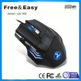 Nuevo 7D Ergonomic Gaming Mouse con Fire Button