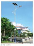 Sistema de iluminación solar calle fabricante de China