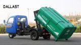 쓰레기 트럭에서 사용되는 피스톤간 송유관의 두 배 임시 유압 기름 실린더
