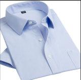남자의 Short Formal Shirt /Men ' s Business Shirt /Men ' s Dress Shirt (HB002)