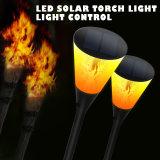 Moderner Entwurfs-Solarflamme-Lampen-Wand-Fackel-Licht