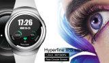 Telefoon van het Horloge van de manier 3G de Slimme met de Monitor van het Tarief van het Hart
