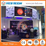 마술 단계 Yestech에서 다중 사용 발광 다이오드 표시