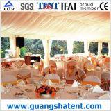 ロマンチックな結婚披露宴のテント、アルミニウム玄関ひさしのテント
