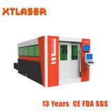 Laser barato econômico da fibra do CNC do baixo preço com caso incluido selado