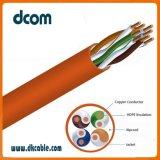 Cable de red LAN CAT5e con CCA Conductor