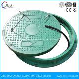 Coperchio di botola chiudibile a chiave circolare standard di En124 FRP SMC 600mm