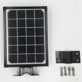 9W All in One Solar Poste com sensor de movimento