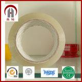 La mejor cinta clara transparente del embalaje del pegamento BOPP
