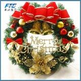 Kroon van de Slinger van Kerstmis van het Festival van het Ornament van de douane de Kunstmatige