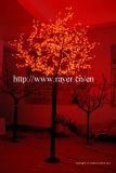 Свет вала цветения вишни украшения СИД улицы празднества