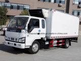 lait de congélateur de nourriture fraîche de cabine de 4X2 Isuzu et camion spacieux de Vaccinetransport