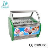Beste Wannen Gelato Eiscreme-Bildschirmanzeige-Gefriermaschine des Preis-10