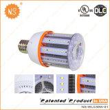 UL DLC VDE enumerados 4500LM IP54 E27 E40 LED 30W de luz de maíz
