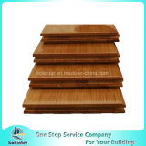 Revestimento de bambu lustroso elevado revestimento de bambu projetado