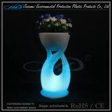 PE jardín material de flores para muebles de LED